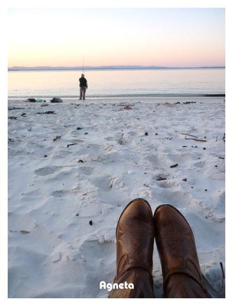 享受這份寧靜的海