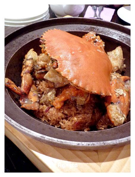 泥蟹油飯 好好吃!!