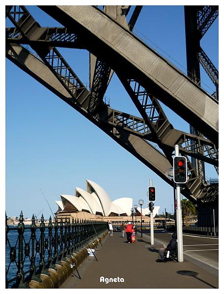 沿著橋下走到circular quay
