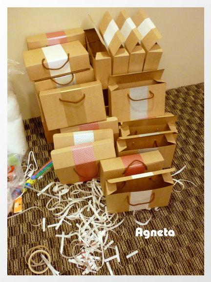 喜餅紙盒加工區