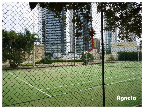 飯店網球場