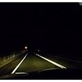 晚上開回飯店的路上 山路都沒路燈 開起來倒是很順