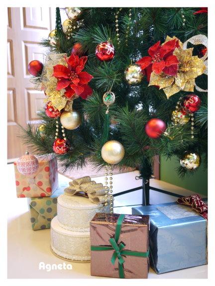 樹下的禮物盒 裡面都是空的XD