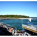 回程在GreenIsland要上船的旅客