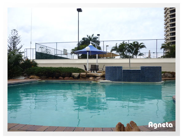 游泳池跟SPA 我們有去泡喔