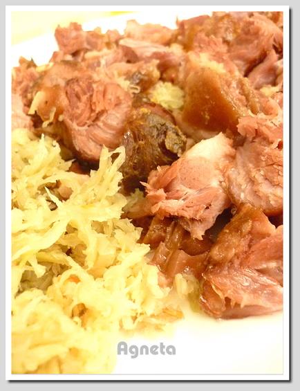 德國豬腳+德國酸白菜