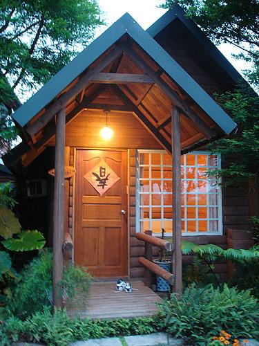 美麗民宿小木屋