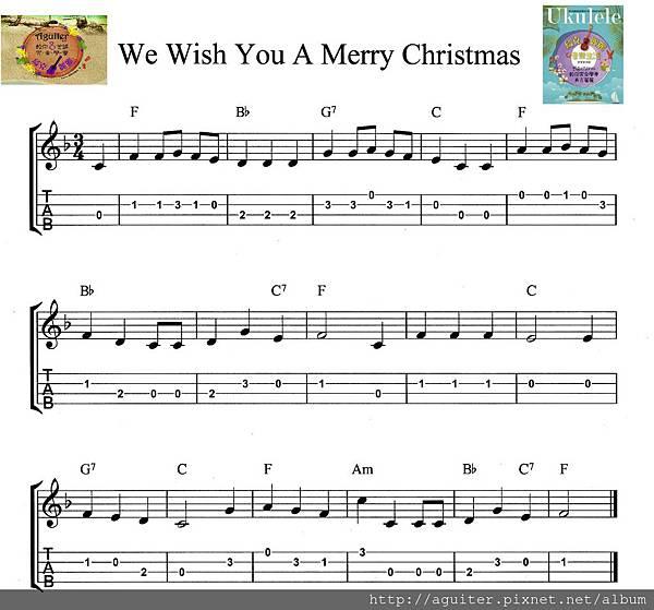 聖誕快樂新年快樂 譜