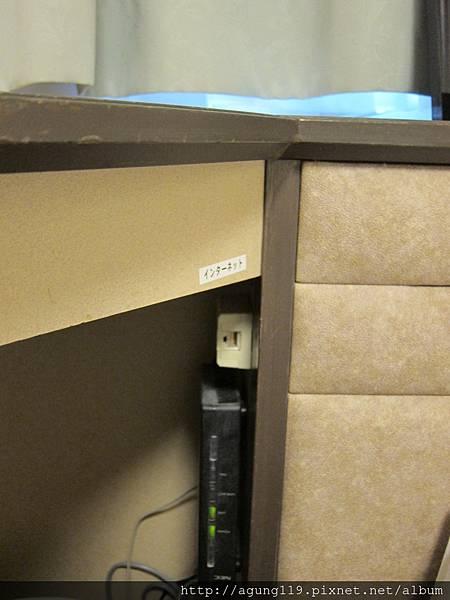 113-房間是有線網路.JPG