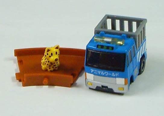 運動物的車(藍)
