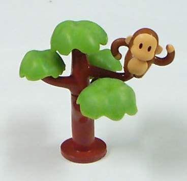 樹 & 猴子