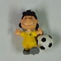 足球吊飾~LUCY