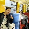 坐上RER前往市區