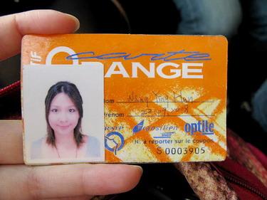 我的橘卡..這可是超級好用又實惠的玩意ㄦ