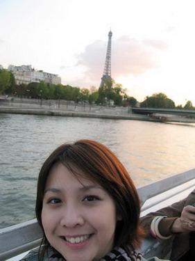 看的到遠處的巴黎鐵塔ㄇ