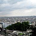 從聖心堂眺望整個巴黎市