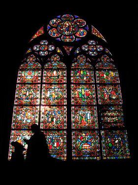 很精緻又美的彩繪玻璃..古代人怎麼這麼厲害