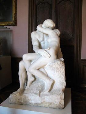 """羅丹代表作之ㄧ""""吻"""""""