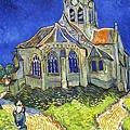 梵谷的「奧維爾教堂」我的天...我看到原作了
