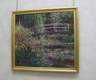 莫內畫睡蓮是最有名的