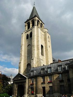 再來就去百年教堂聖哲曼教堂