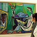 畢卡索博物館進不去這裡也可以看畢卡索
