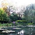 莫內的睡蓮池...是不是很美..可惜蓮花沒開~春夏來一定更美
