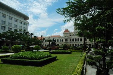 忘了這是不是越南的市政廳