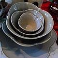 碗中碗就疊成睡蓮的樣子了~~