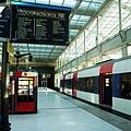 這就是搭RER(B)的月台
