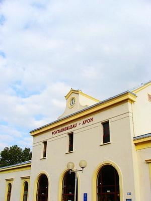楓丹白露火車站