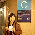 搭C線火車前往楓丹白露