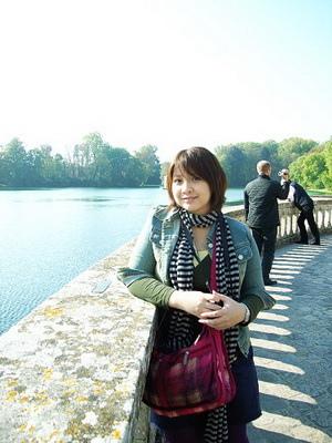 我在巴黎整個就是放肆的曬太陽
