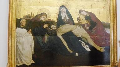 """李嘉睿之前畫丁哥死掉靈感就是來自於這幅""""聖殤"""""""