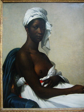 貝諾瓦畫的黑人婦女像是為了當時廢除黑人奴隸制的法令而創作的