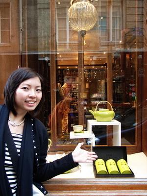 怡文帶我們去她要買的法國茶