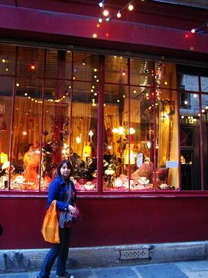 拉丁區也是很多漂亮小店