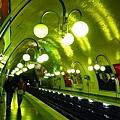 Cité 這一站的地鐵很有FU