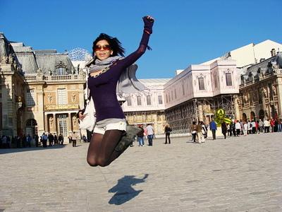 跳跳華在皇宮也要跳