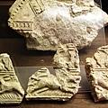 這都是古代城壁的碎片
