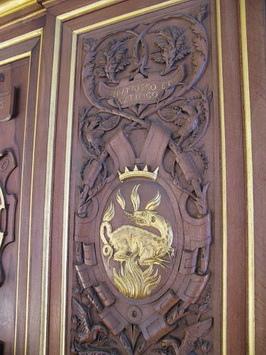這隻金色蠑螈是佛朗索瓦一世的標誌