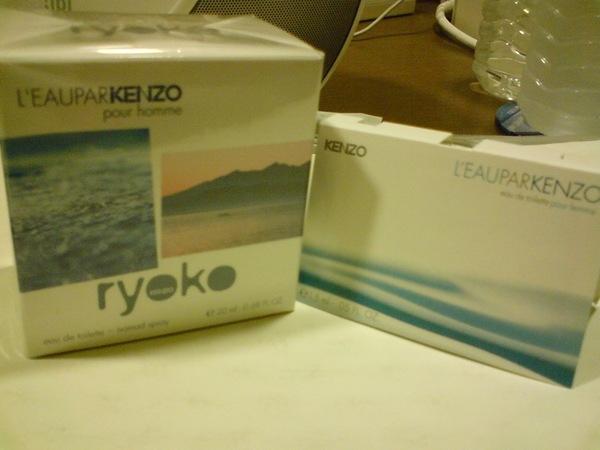 KENZO滑鼠香水XD