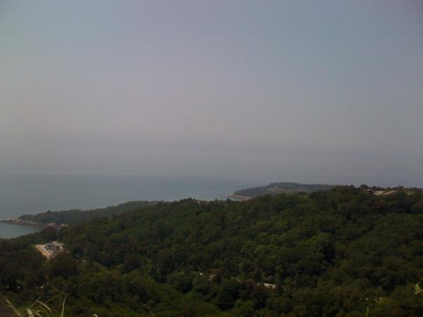 雲台山遠眺