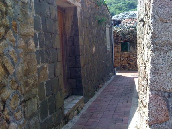 很傳統的漁村建築