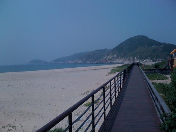 午沙步道跟坂里沙灘在這裡
