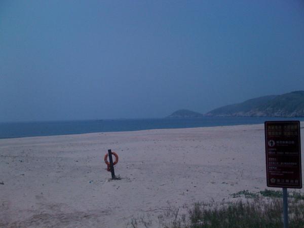 沙灘很漂亮