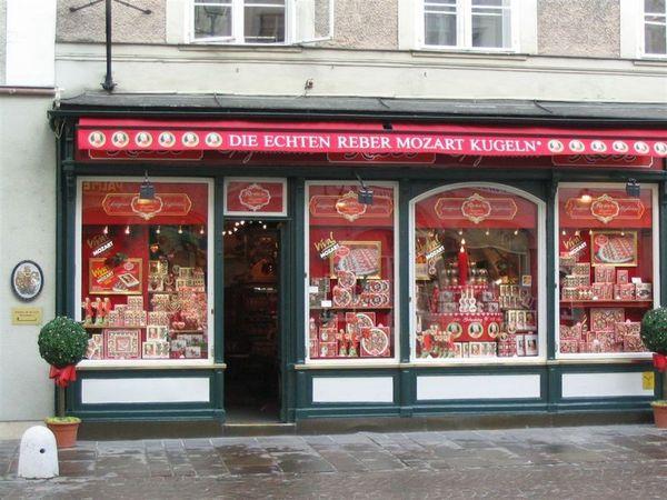莫札特巧克力專賣店
