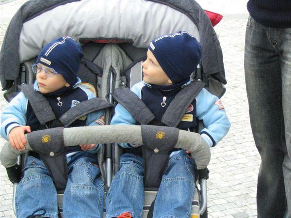 路上的雙胞胎