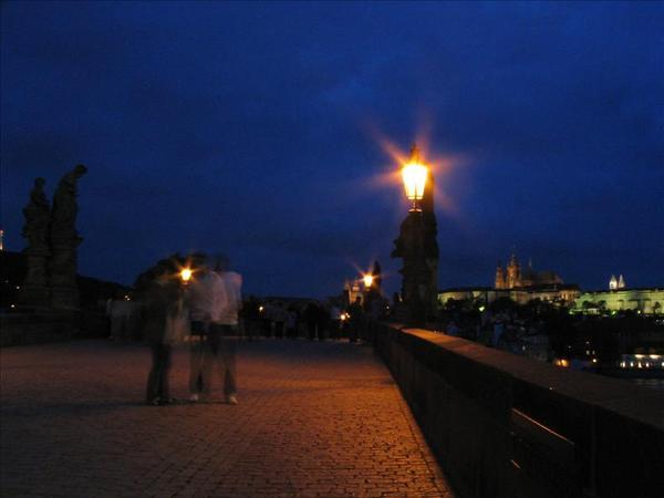 查理士橋夜景