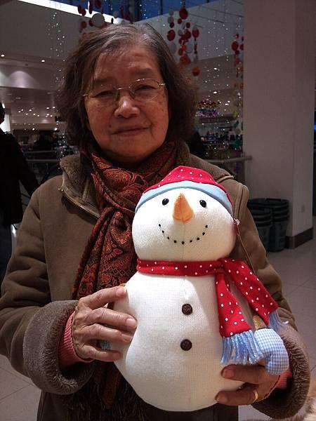 她 是我的婆婆,我很爱她!